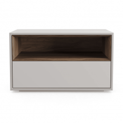 Madison Nightstand in Matte Chateau Grey