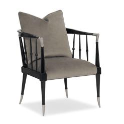 Scorpio Accent Chair in Grey