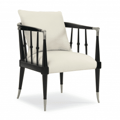 Scorpio Accent Chair in White