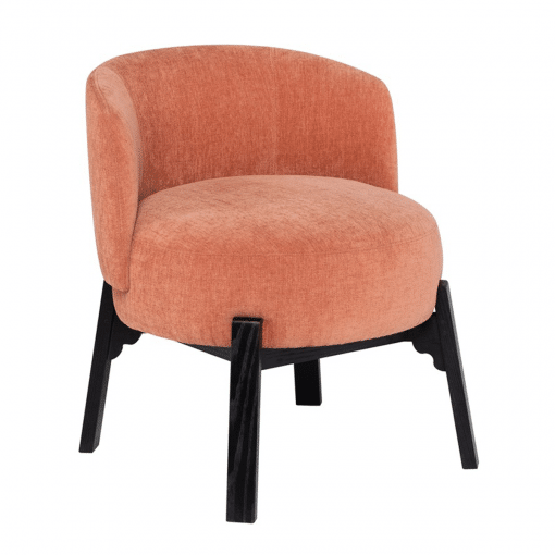 Adelaide Dining Chair in Nectarine