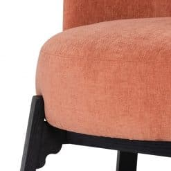 Adelaide Dining Chair in Nectarine Details