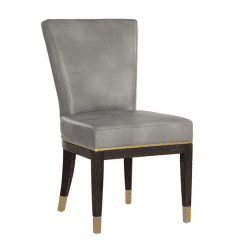 Alister Dining Chair in Bravo Metal