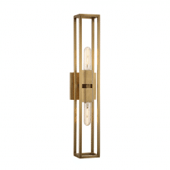 Altero H Wall Sconce Vintage Brass