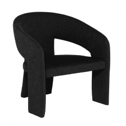Anise Accent Chair in Activated Charcoal
