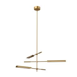 Astrid Light Pendant in Vintage Brass