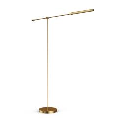 Astrid Floor Lamp in Vintage Brass