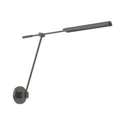 Astrid Swing Arm Wall Sconce in Urban Bronze