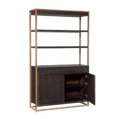 Baldessara Bookcase Open