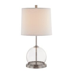 Coast Table Lamp in Aged Nickel