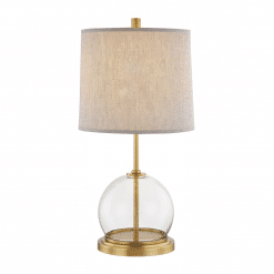 Coast Table Lamp in Vintage Brass
