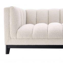 Adamede Sofa in Boucle Cream Details