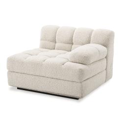 Britannia Right Side Sofa Seat in Boucle Cream