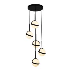 Globo Light Pendant in Matte Black
