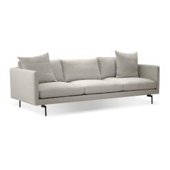 Maretta Sofa in Light Grey