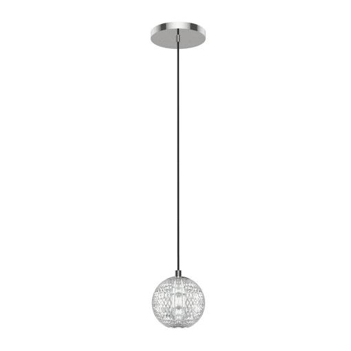 Marni Pendant in Polished Nickel