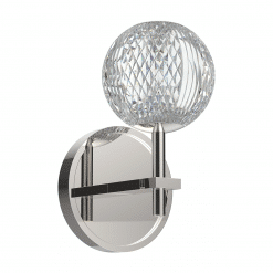 Marni Wall Sconce in Polished Nickel