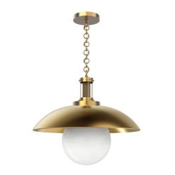 Oviatt Pendant in Vintage Brass