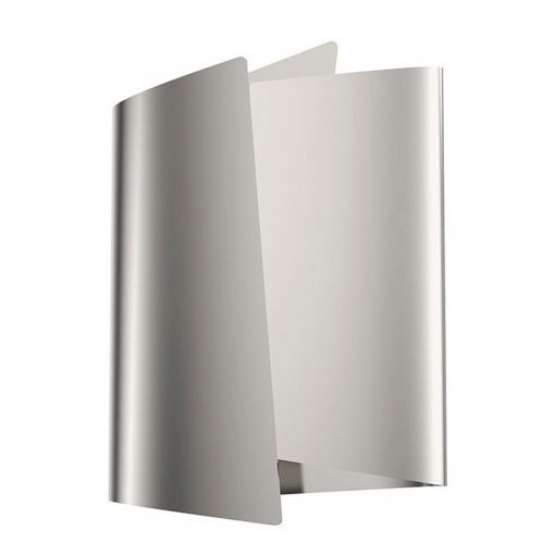 Parducci H Wall Sconce in Polished Nickel
