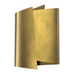 Parducci H Wall Sconce in Vintage Brass